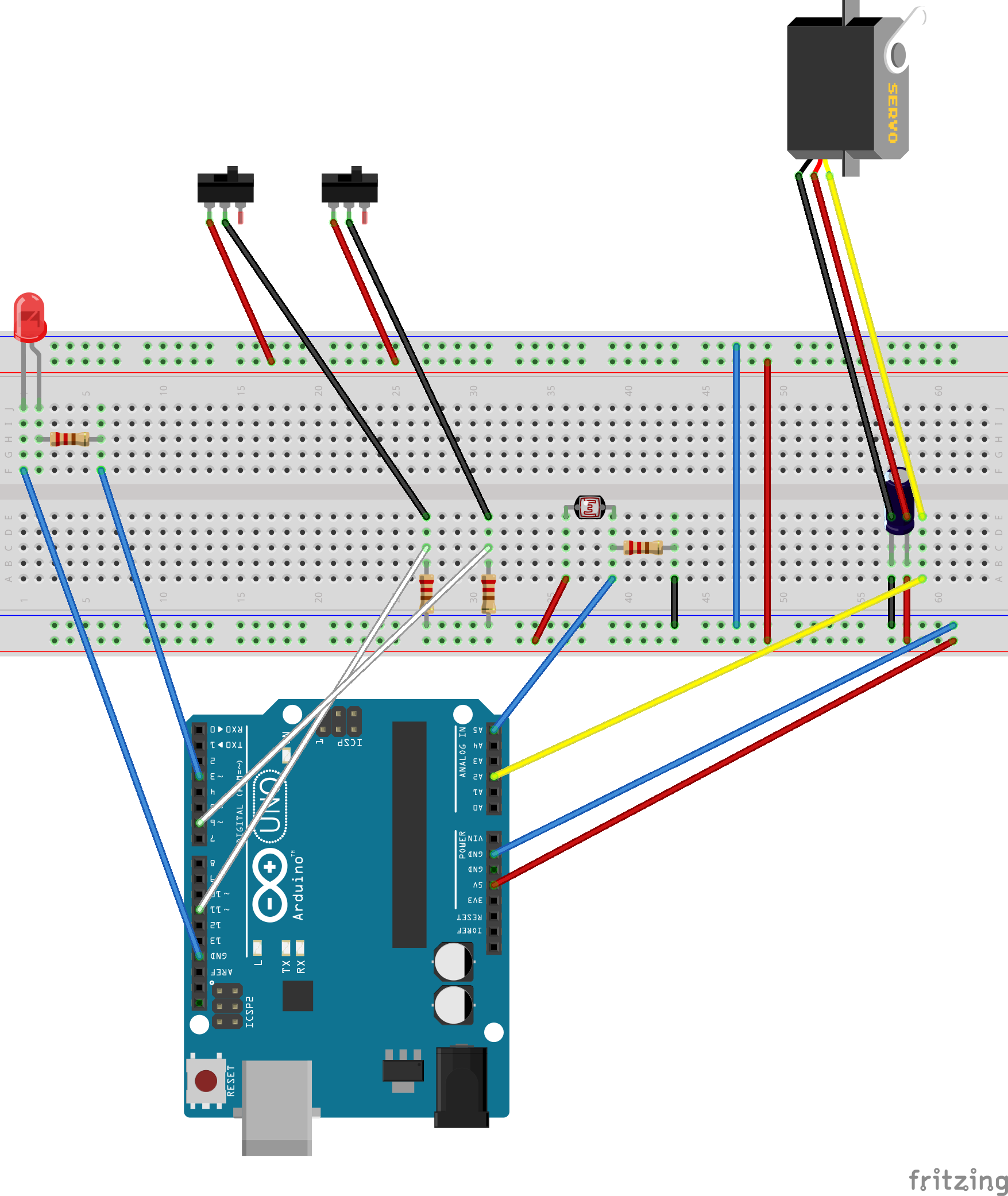 Its Urgent Arduino Not Working With External Power Supply Transformer Diagram Obstacle Avoidance Robot Circuit
