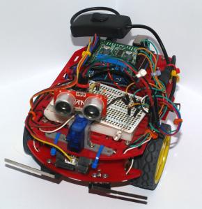 Autonomous Roaming Robot