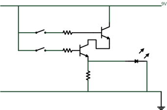 AND Gate Schematic