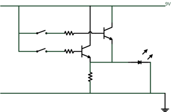 OR Gate Schematic