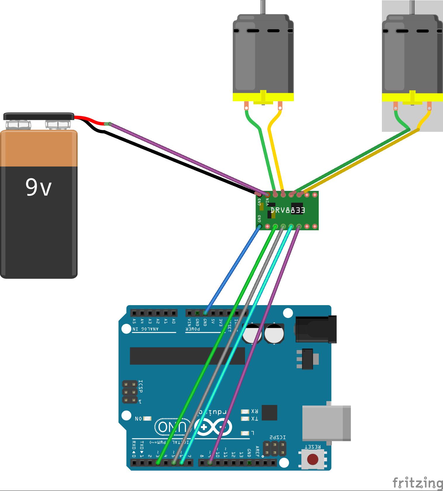 Arduino uno r page killer robotics