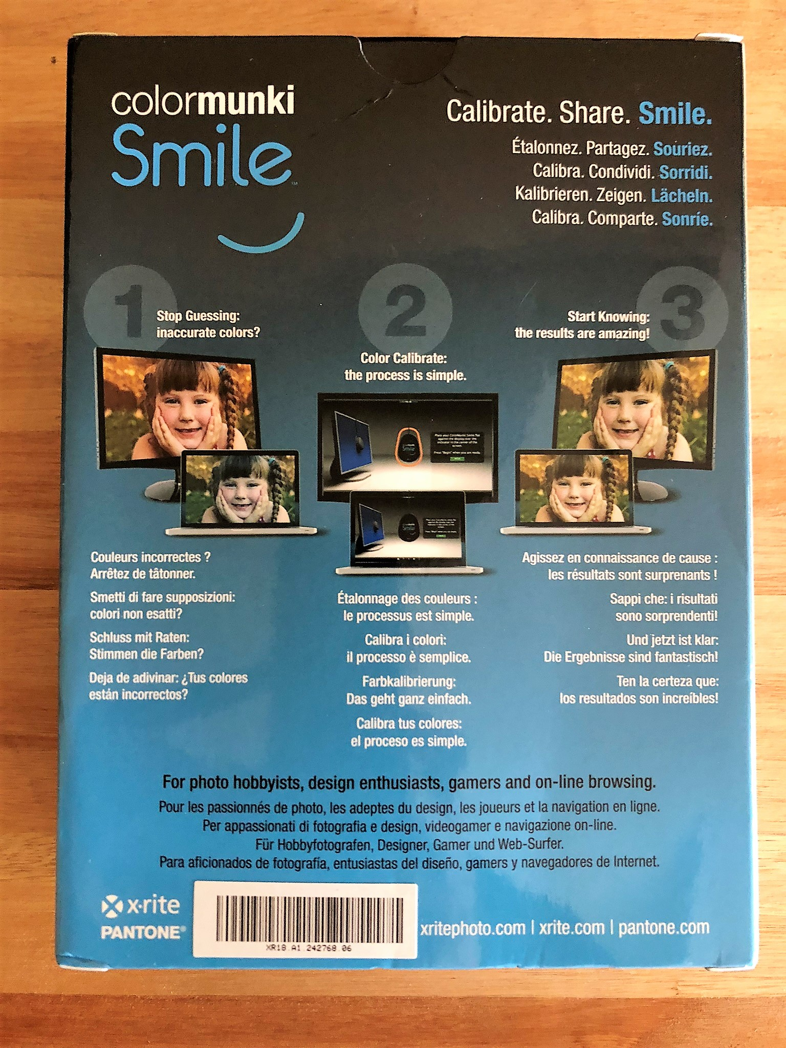 REVIEW – X-RITE COLORMUNKI SMILE – Killer Robotics